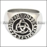 Stainless Steel Ring r008594SH