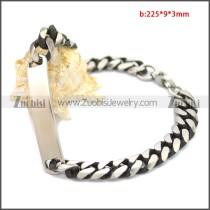 Stainless Steel Bracelet b009908SA1