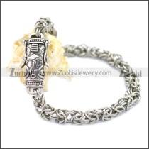Stainless Steel Bracelet b009918S