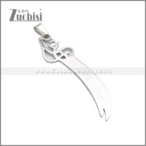 Stainless Steel Pendant p010761S1