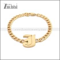 Stainless Steel Bracelet b009951R