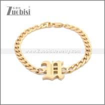 Stainless Steel Bracelet b009962R