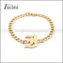 Stainless Steel Bracelet b009950R