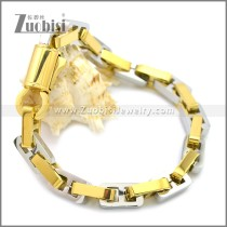 Stainless Steel Bracelet b009928GS