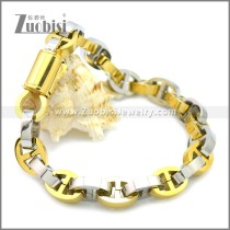 Stainless Steel Bracelet b009930GS