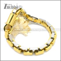 Stainless Steel Bracelet b009929GS