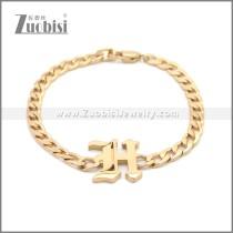 Stainless Steel Bracelet b009949R