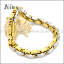 Stainless Steel Bracelet b009938GS