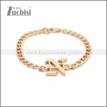 Stainless Steel Bracelet b009955R