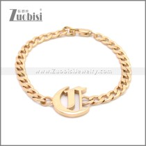 Stainless Steel Bracelet b009944R