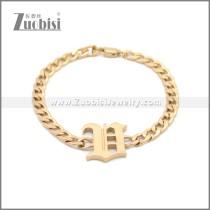 Stainless Steel Bracelet b009963R