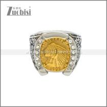 Stainless Steel Ring r008640SAG