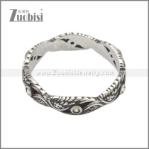 Stainless Steel Ring r008723SA3