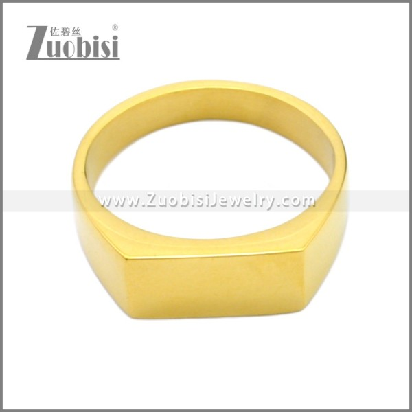 Stainless Steel Ring r008732G