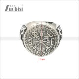 Stainless Steel Ring r008649SA
