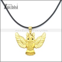 Rubber Necklace W Stainless Steel Clasp n003178HG2