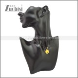 Rubber Necklace W Stainless Steel Clasp n003197HG