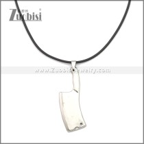 Rubber Necklace W Stainless Steel Clasp n003189HS