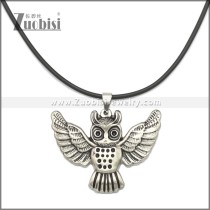 Rubber Necklace W Stainless Steel Clasp n003178HS2