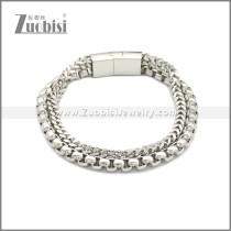 Stainless Steel Bracelet b009995S