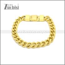 Stainless Steel Bracelet b009991G
