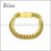 Stainless Steel Bracelet b009995G