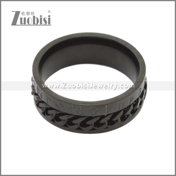 Stainless Steel Ring r008750H