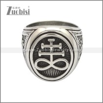 Stainless Steel Ring r008759SA