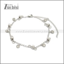 Stainless Steel Anklets ac000133S2