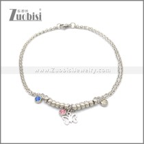 Stainless Steel Anklets ac000127S