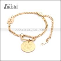 Stainless Steel Bracelet b010073R