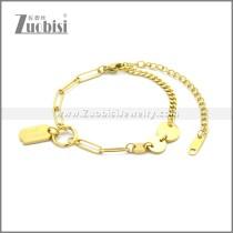 Stainless Steel Bracelet b010075G