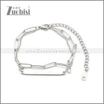 Stainless Steel Bracelet b010066S