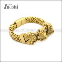 Stainless Steel Bracelet b010078G