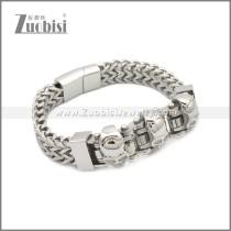 Stainless Steel Bracelet b010082S
