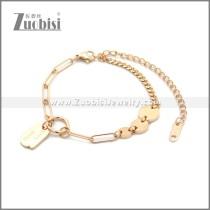 Stainless Steel Bracelet b010075R