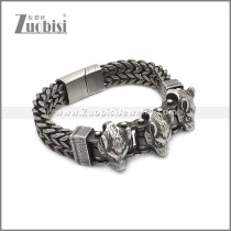 Stainless Steel Bracelet b010080A