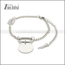 Stainless Steel Bracelet b010073S