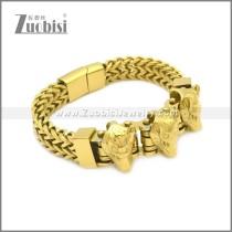 Stainless Steel Bracelet b010080G