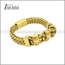 Stainless Steel Bracelet b010082G