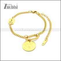 Stainless Steel Bracelet b010073G