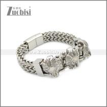 Stainless Steel Bracelet b010078S