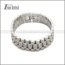 Stainless Steel Bracelet b010085S