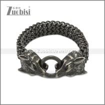 Stainless Steel Bracelet b010086A