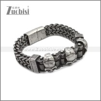 Stainless Steel Bracelet b010082A