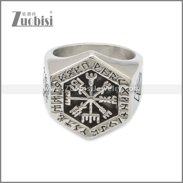 Stainless Steel Ring r008772SA