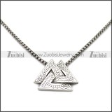 Stainless Steel Pendant p011018S