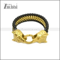 Stainless Steel Bracelet b010090GH