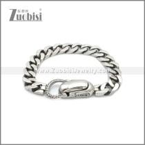 Stainless Steel Bracelet b010096S