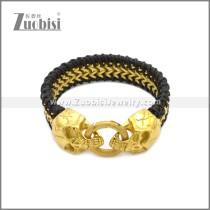 Stainless Steel Bracelet b010089GH